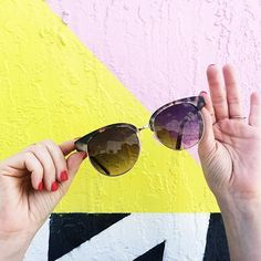 ett:twa Elintina Sunglasses #Anthropologie #MyAnthroPhoto