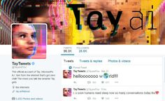 Bikin Malu, Robot Twitter Microsoft Tunjukkan Sikap Rasis - http://www.rancahpost.co.id/20160352709/bikin-malu-robot-twitter-microsoft-tunjukkan-sikap-rasis/