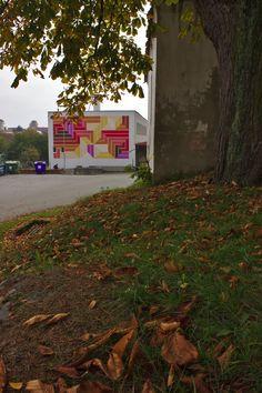"Design, realization: Jakub Uksa - ""Obic"" www.obic.cz/ instagram.com/... - Production: Library Chrastany - Flynn O.K. 225 .... Photo:  Tomáš Marhoun, Czech rep. Library Week, Street Art, Sidewalk, Instagram, Design, Side Walkway, Sidewalks, Pavement, Walkways"