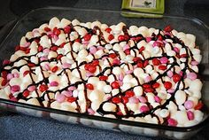 Valentine's Day S'mores--What????   mmm