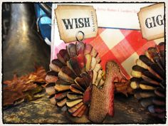 cute quirky turkeys Tim Holtz DSC00641