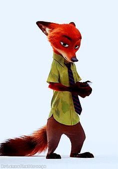 Nick Wilde Zootopia | This GIF has everything: fox, zootopia, NICK WILDE!