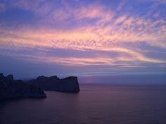 Sunset. Cap de Formentor