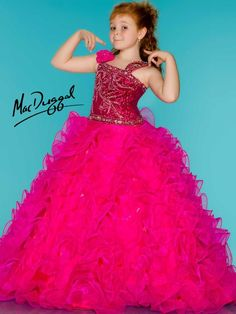 Phashionique: Apparel: Sugar Sassy Fuchsia Glitter Ruffle Skirt Pageant Gown Girls Buy New: [UK & Ireland Only] Junior Pageant Dresses, Beauty Pageant Dresses, Little Girl Pageant Dresses, Girls Pageant Dresses, Gowns For Girls, Unique Prom Dresses, Pageant Gowns, Ball Dresses, Cheap Dresses