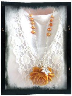 #oranssiruusu #ruusunkukkakaulakoru #ruusu #kesä