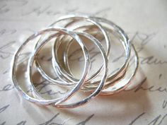 5 Off SaleSterling Silver Links Connectors Above by FabulousRocks, $4.50