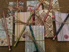 Perfect Teacher Gift...we did it for our Women's Retreat! A very easy and affordable gift!