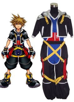 Kingdom Hearts Sora Cosplay Costume on sale, a perfect Cosplay Costumes with high quality and nice design. Buy it now or discover your Cosplay Costumes http://goo.gl/ikszh