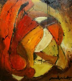 Abstract Art 80x90 cm by Paul Smidt