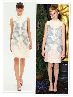 I love Victoria Beckham's Clothes Line.