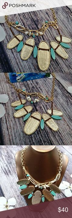 Fabulous Necklace So chic and fun this piece is life itself...perfect wardrobe must have ask questions about specs if interested Jewelry Necklaces