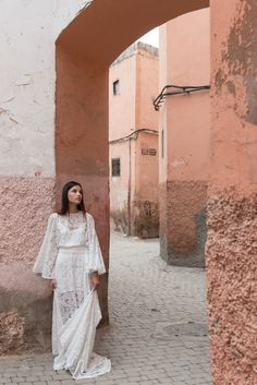 Beautiful fashion editorial by Finery Boutique, set in Marakesh Morocco and featuring wedding dresses from Odyyne The Ceremony and Yaki Ravid. Featured on Truly and Madly wedding blog: http://www.trulyandmadly.com/fashion/fashion-editorial-morocco-finery/