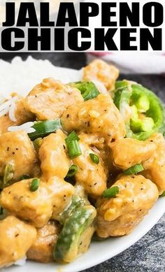 JALAPENO CHICKEN RECIPE- Quick, easy, 30 minute weeknight meal, ready on the stovetop, requires simple ingredients. It's rich, creamy, packed with cream cheese and inspired by Asian/ Chinese/ Mexican flavors. Enjoy it with salad, rice or as a sandwich/burger. From cakewhiz.com #dinnertime #mexicanfood #chinesefood #spicy #jalapeno #chicken #chickenrecipe #chickendinner #dinnerrecipes #recipeideas #30minutemeal #onepot