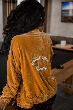 Honey Baby | Velvet Jacket – Nichole Lynel