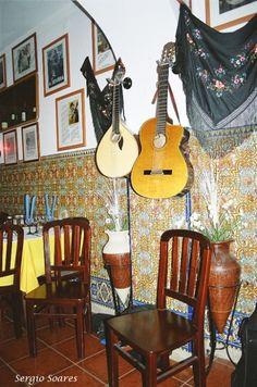 Casa de Fado in Alfama, Lisbon, PORTUGAL