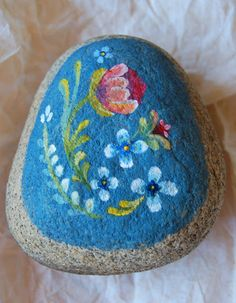 Hand painted rock fromThe Wild Forlorn