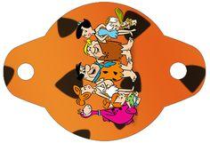 Enfeite Canudinho Os Flintstones: