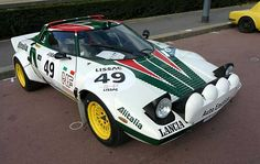 The grand daddy of rally cars, when the men had balls the size of . , the classic Lancia Stratos Lancia Delta, Sport Cars, Race Cars, Performance Cars, Rally Car, Car And Driver, Car Photos, Courses, Alfa Romeo