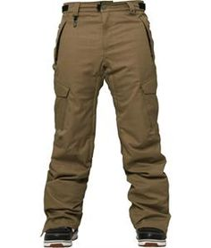 Launch Yourself To The Top Spot In These 686 Authentic Infinity Slim Cargo Insulated Snowboard Pants
