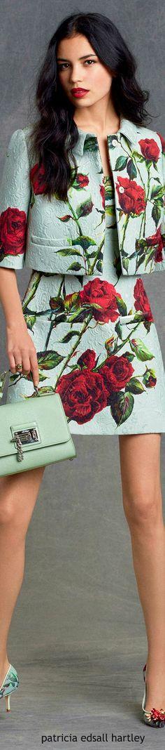 //Dolce & Gabbana - Winter 2016 #fashion #womenswear #couture