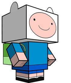 Finn Cubeecraft Adventure time