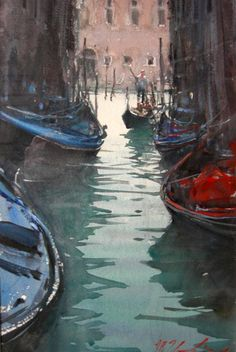 Joseph Zbukvic, Venice: