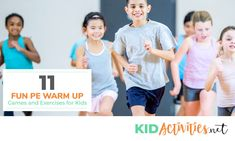 11 fun pe warm up games and exercises for kids [gym class warm ups] Kids Gym, Exercise For Kids, Children Exercise, Physical Education Lessons, Physical Activities, Fun Games, Games For Kids, Soccer Warm Ups, 4 Year Old Activities