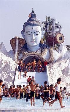 The Third Eye of Shiva . Reflected In The Viewfinder of a Camera Rudra Shiva, Mahakal Shiva, Shiva Art, Hindu Art, Lord Shiva Statue, Ganesh Statue, Lord Shiva Hd Wallpaper, Lord Vishnu Wallpapers, Shiva Meditation