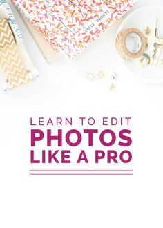 The design of your website and the quality of your photography can make all  the difference in a first impression of your blog or business. Think about  your favorite blogs and brands for a moment; what is it about their  websites and social media accounts that make them stand out and appear  pr