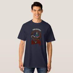 Morrison Clan Badge Men's Tall Dark T-Shirt - diy cyo customize create your own personalize