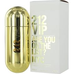 212 Vip Eau De Parfum Spray 2.7 oz by Carolina Herrera Fragrance Notes:vanilla, rum, passion fruit, gardenia, tonka bean, musk Year Introduced:2010