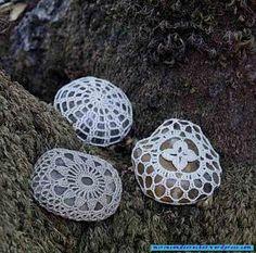 And as I like to knit them ..... hahahahahaha yew even the stones! | Mi Rincon de Crochet
