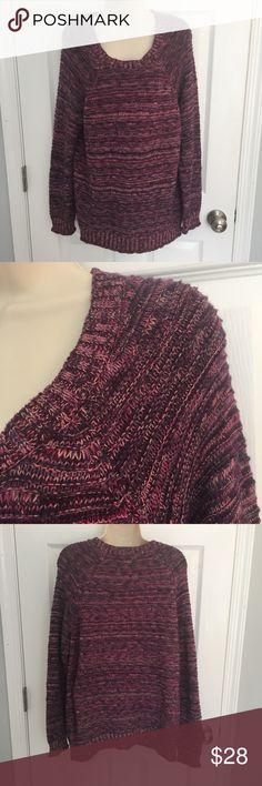 Purple Daisy Fuentes sweater, size XL Purple Daisy Fuentes sweater, size XL Daisy Fuentes Sweaters