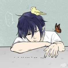 Bored kieran counting ants (and being an animal magnet) . the dark artifices, kieran Emma Carstairs, Jace Wayland, The Mortal Instruments, Saga, Shadowhunters Series, Lady Midnight, Cassie Clare, Cassandra Clare Books, The Dark Artifices