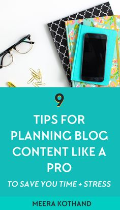Are you always struggling to find blog post ideas? That's a tell tale sign you need a blog content plan. In this post you'll get 9 steps to formulate your own content strategy using the 1-page blog content planner template. You cannot afford to miss #4! //digital marketing - content creation - blogging - online business - copyrighting
