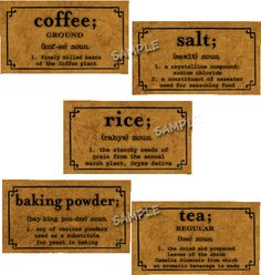Brown Kraft Labels and Card Supplies for the Small Business Owner and Crafter