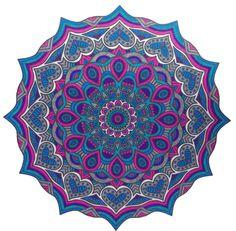 """Mandala from: """"Het tweede enige echte mandala kleurboek""""."""