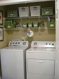 Eat. Sleep. Decorate.: Laundry Closet Makeover- Before & After