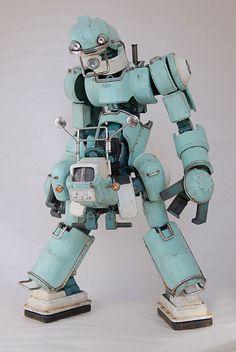 Chubu 01 robot, designed by Kazushi Kobayashi.
