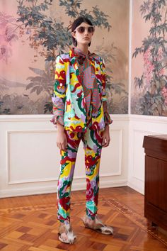 La DoubleJ Pre-Fall 2019 Fashion Show Collection: See the complete La DoubleJ Pre-Fall 2019 collection. Look 11 Runway Fashion, High Fashion, Womens Fashion, Fashion Fashion, Fashion Tips, Cool Outfits, Fashion Outfits, Fashion Prints, Fashion Design