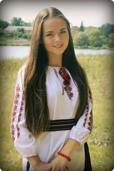 Ukraine Women, Ukraine Girls, Supergirl, Teen Girl Poses, Romanian Girls, Ukrainian Dress, Cute Young Girl, European Girls, Arab Women
