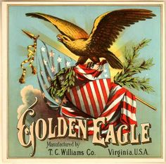 T. C. William's Tobacco – Golden Eagle