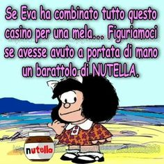 mela o Nutella? Love You, My Love, Emoticon, Nutella, Vignettes, Quotations, Have Fun, About Me Blog, Smile