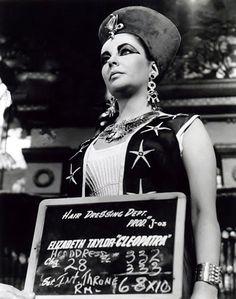 Cleopatra (1963) Elizabeth Taylor hair dressing test