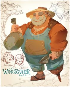As Production Designer for the Wingfeather Saga pilot, I& also designed the principle cast of ragamuffin little lovies and I, excited to be allowed to share a little look behind the scenes of each Character Drawing, Comic Character, Game Character, Character Concept, Concept Art, Character Reference, Book Characters, Fantasy Characters, Character Design References