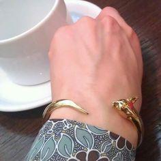 #bracelet #18kgold #cat #cornishrex by anyalubomirska…