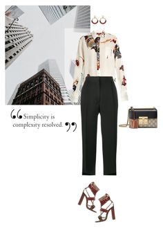 """""""Boss Lady"""" by larizoid ❤ liked on Polyvore featuring Sies Marjan, Acne Studios, Etro and Gucci"""