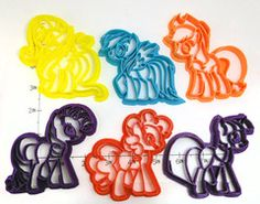 Mane Six My Little Pony Set