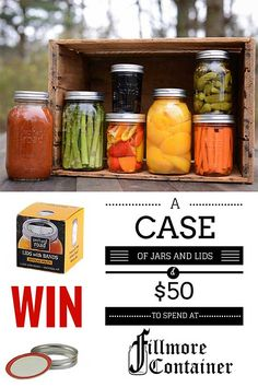 Canning Jar Give Away