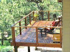 Outdoor Design Ideas for Decks and Patios outdoor deck designs 29 Deck With Pergola, Pergola Patio, Pergola Plans, Gazebo, Pergola Ideas, Patio Roof, Pergola Kits, Patio Ideas, Balcony Deck